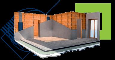 Építőipari kiegészítő termékek