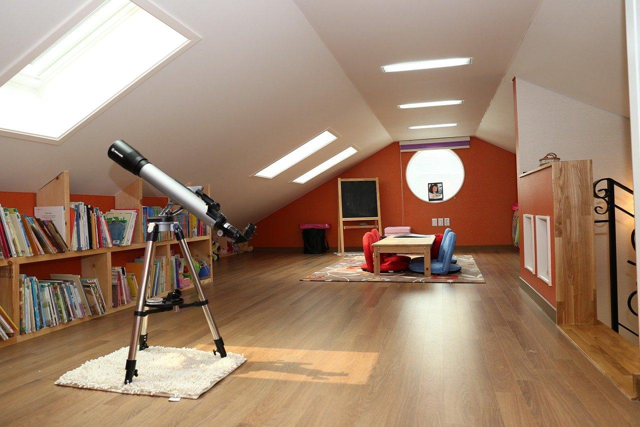Tetőtér beépítés után